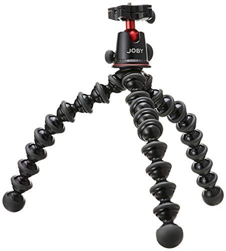 JOBY GorillaPod Rig, Kit Treppiede Flessibile con Testa a Sfera e Due Bracci GorillaPod per Fotocamere DSLR, Microfoni, Luci e Accessori, JB01522-BWW