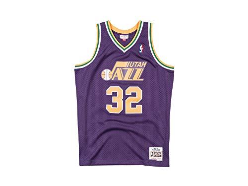 Mitchell & Ness Swingman Utah Jazz Malone Camiseta sin Mangas Purple