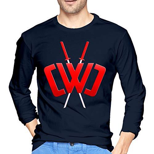 Cwc Men's Long Sleeve Tee Shirt Cwc Lightweight T-Shirt Cwc 100% Cotton Sport Tees