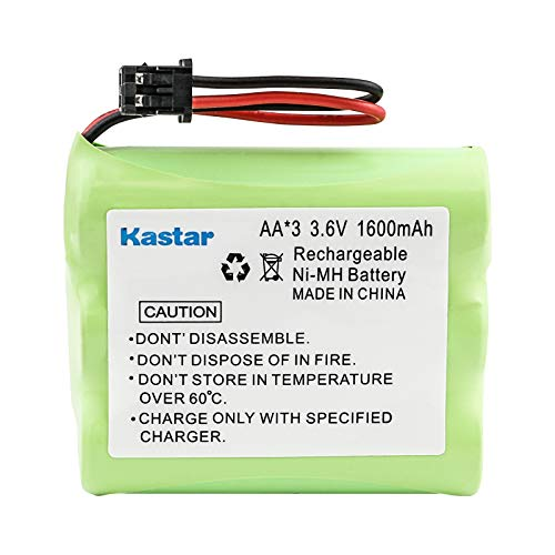 Kastar Battery Replacement for P-P504 Cordless Phone Battery 1X3AA/B - 3.6 Volt, Ni-MH 1600mAh - Cordless Phone Replacement Battery