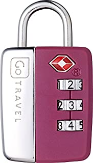 Design Go Travel Sentry Lock Purple, One Size