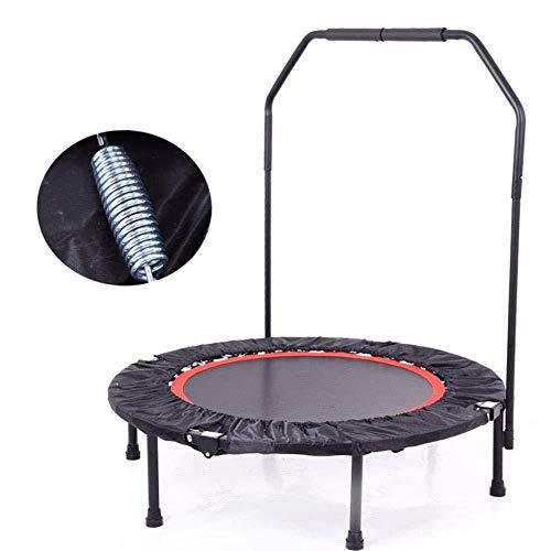 Trampoline springbed, opvouwbaar, met handgreep, voor kinderen en volwassenen, voor binnen en buiten, maximale belasting 150 kg.