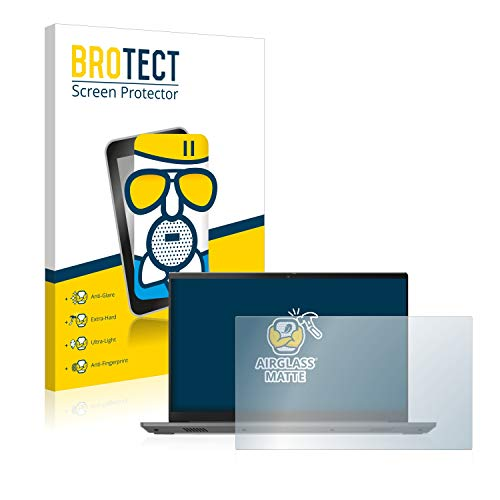 BROTECT Protector Pantalla Cristal Mate Compatible con Lenovo ThinkBook 15 Gen 2 AMD Protector Pantalla Anti-Reflejos Vidrio, AirGlass