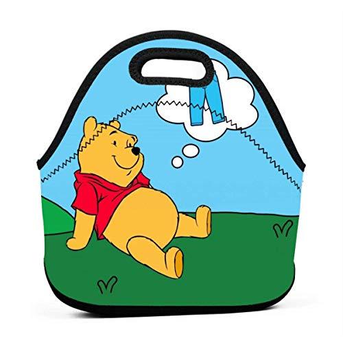 yusanbaihuodian Bolsa de almuerzo aislada aduana The Pooh Pantalones paquetes de hielo para adultos/hombres/mujeres/niños