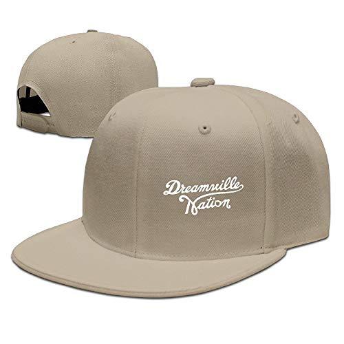 Facsea Runy Custom ASAP Rocky Adjustable Baseball Hat & Cap Natural