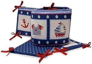 Bedtime Originals Sail Away Bumper, Blue (Discontinued by Manufacturer)