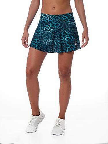 a40grados Sport & Style, Falda Full Azul Print, Mujer, Tenis y Padel (Paddle) (40 M)