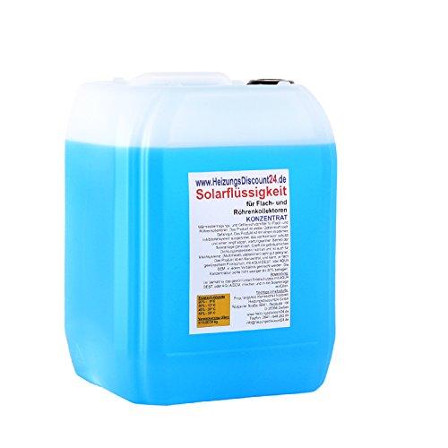 10 Liter Solarflüssigkeit Konzentrat bis -58°C Frostschutz, Solarfluid, Solarliquid, Wärmeträgermedium