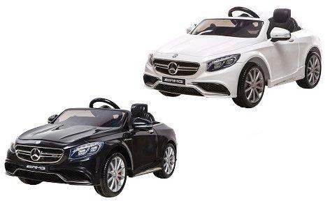 Mercedes Benz S63AMG Blanche 12v