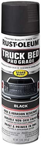 Rust Oleum 272741 Automotive Professional Grade Truck Bed Coating Spray 15 oz Matte Black product image