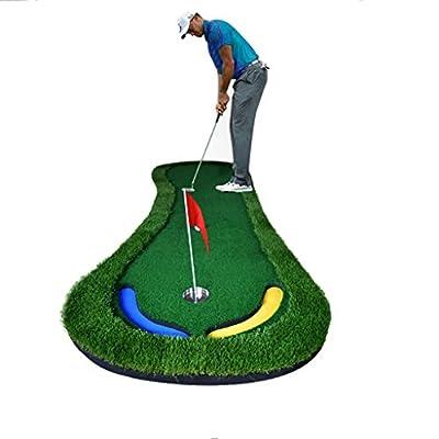 Golf-Putting-Matte Golf-Übungsmatte Indoor-Golf-Grün Putting-Grün