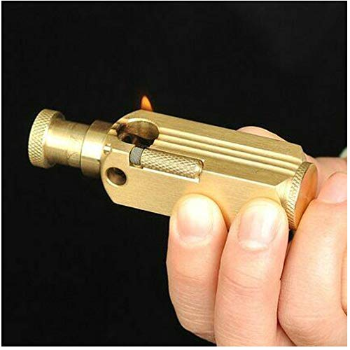 ZOOARTS Windproof Copper Lighter Cool Useful Winterproof