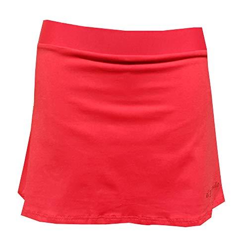 El Gusanillo - Falda de pádel o Tenis en Suplex, Comodidad en su Grado máximo - Modelo Win Roja