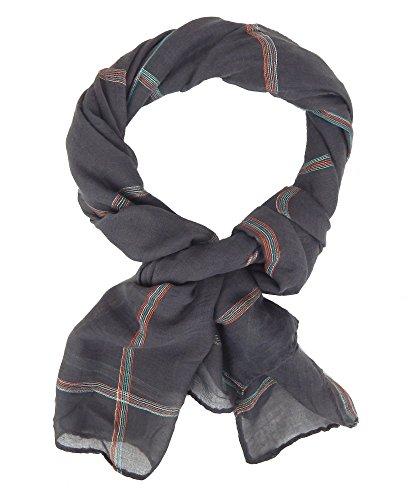Ella Jonte Écharpes foulard d'homme élégant et tendance de la dernière collection by Casual-style gris