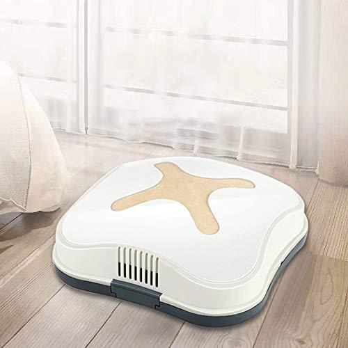 Robot Vacuum Cleaner, Buena USB de Carga automático Mini Limpiador de hogar de Bajos Aspiradora Ruido (Rosa), Obras en Las alfombras y Suelos Duros (Color : Gold)