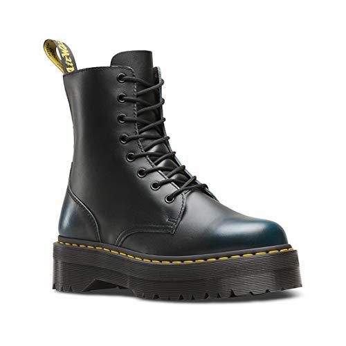 Dr. Martens Womens Jadon 8-Eylet Blue Leather Boots 38 EU