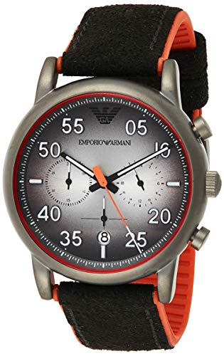 Emporio Armani Men's Ar11174 Black Rubber Japanese Quartz Fashion Watch