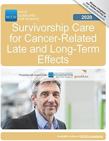 NCCN Guidelines for Patients Survivorship Care for Cancer Related Late and Long Term Effects product image
