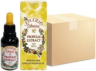 Sponsored Ad - Official Distributor - 1 Box (25 Bottles) Apiario Silvestre Brazilian Green Bee Propolis Liquid - Cereal Al...