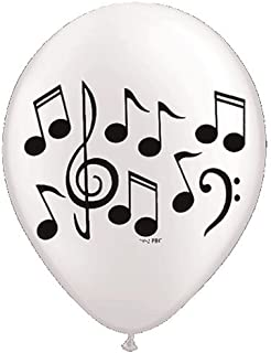 Music Note Latex Balloons - 10 Balloons - 11