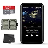 FiiO M6 Portable High Resolution Music Player + Memory Card Hardcase + SanDisk Ultra 32GB microSDHC UHS-I Card with Adapter + Photo4Less Cleaning Cloth