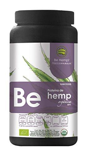 Be Hemp!, Proteína de Hemp Orgánica al 50%, 454 g