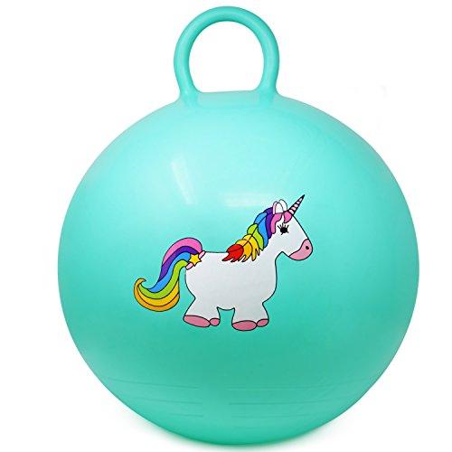 Hüpfball Einhornmotiv Sprungball