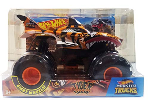Hot Wheels Monster Trucks Shark Wreak Ti Buy Online In Aruba At Desertcart