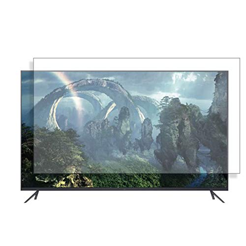 AWSAD 32-75 Inch Anti-Blue Light TV Screen Protector, Anti Glare Filter Anti-Scratch, 18 Sizes (Color : HD version, Size : 46 inch/1017x570mm)