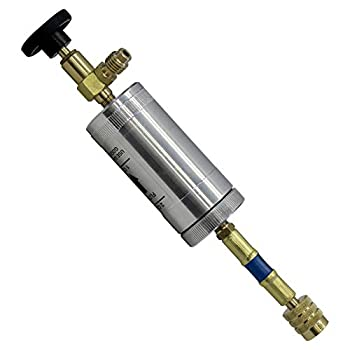 MASTERCOOL 82375 R134A Oil Injector Silver
