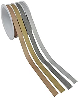 The Gift Wrap Company 4-Channel Krafted Metallic Curling Ribbon, Multi-Colored