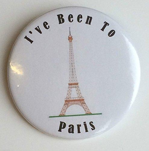 I ve Been To Paris 59 mm-Miroir Fantaisie à l'arrière