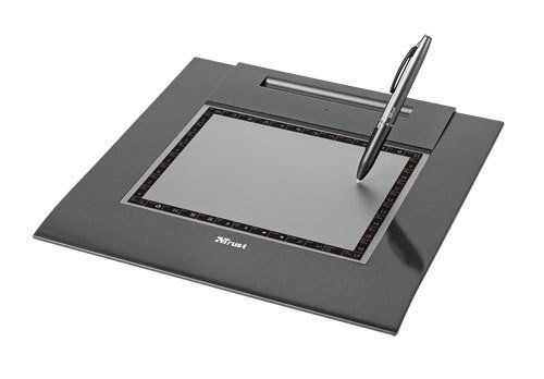 Trust Computer Products Trust Slimline Sketch Tablet - Digitizer, Stylus - 15 X 20 Cm - Electromagnetic - Wired - Usb