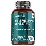 Multivitaminas y Minerales 365 Comprimidos Vegetales - 27 Vi