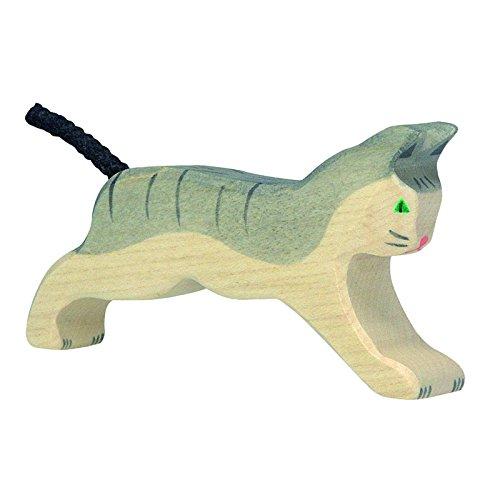 Holztiger Katze, laufend, 80054