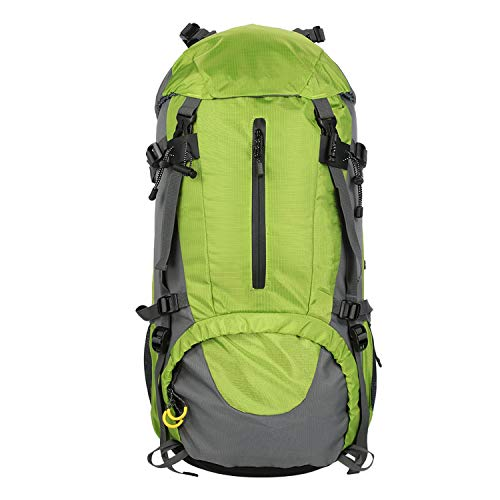 OASIS LAND 50L Outdoor Sport Hiking Camping Travel Backpack Pack Mountaineering Climbing Backpacking Trekking Bag Knapsack-Greencolor-OneSize
