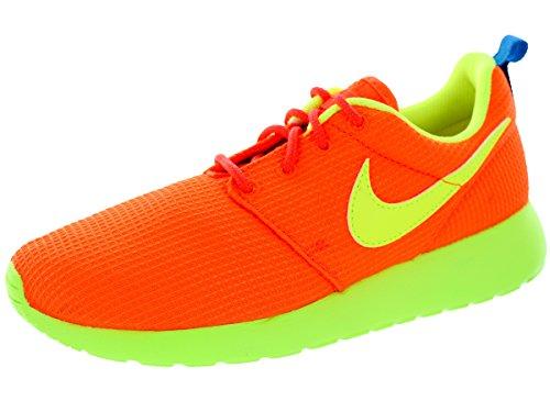 Nike Roshe Run 599728, Jungen Laufschuhe - Hyper-karmesinrot Volt Foto blau 801, 39