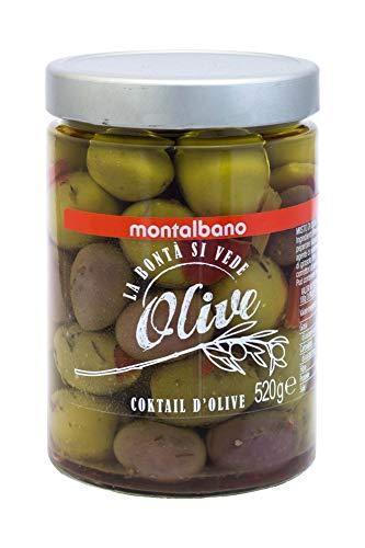 MONTALBANO Cocktail d'Olive 6 Vasi - 3.12 kg
