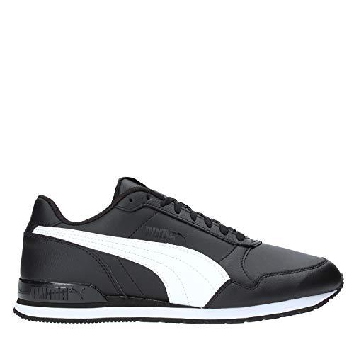 Puma Unisex-Erwachsene St Runner V2 Full L Sneaker, Black White, 28.5 EU