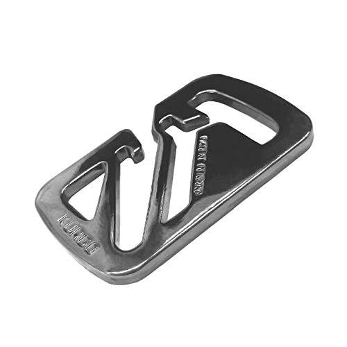 Kurgo Dog Walking Leash Accessories | Seatbelt Buckle for Dogs | Carabiner Clip | Bungee Cord | Collar to Harness | Leash to Seatbelt Buckle | Leash Latch | Web Keeper | Leash Cleat, Steel Grey