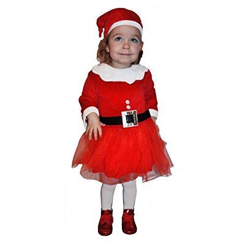 Sveglio di Natale vestito con tulle/Costume di Natale per bambini 24–30mesi in confezione Show