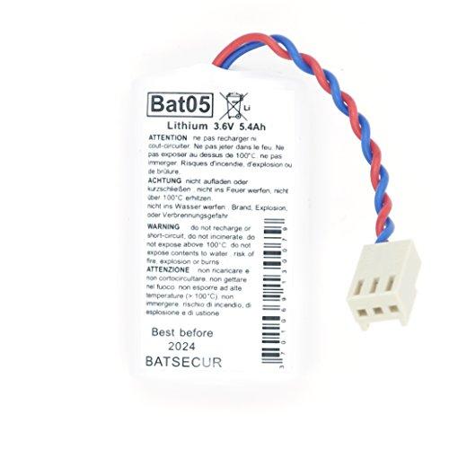 BAT05 BatLi05 batteria al litio 3,6 V 5,4Ah compatibile x allarmi DAITEM LOGISTY