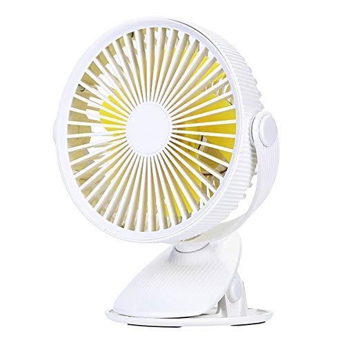 Bureau Clip Ventilator, Minitafel Draagbaar Koeling Stil Persoonlijke Ventilatoren Draaibaar Verstelbare Hoek Met 3 Snelheden Voor Kinderwagen Thuiskantoor School Kamperen Reizen