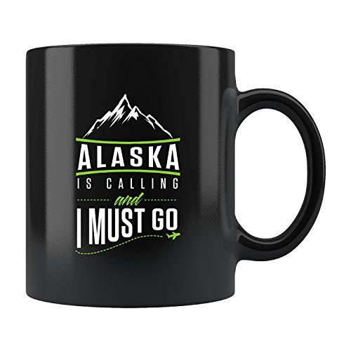 Alaska Adventure Mug Alaska Taza de café, Alaska, Alaska, Alaska, regalo de vacaciones de Alaska, regalo de viaje de Alaska, regalo de viaje de Alaska, regalo #b172