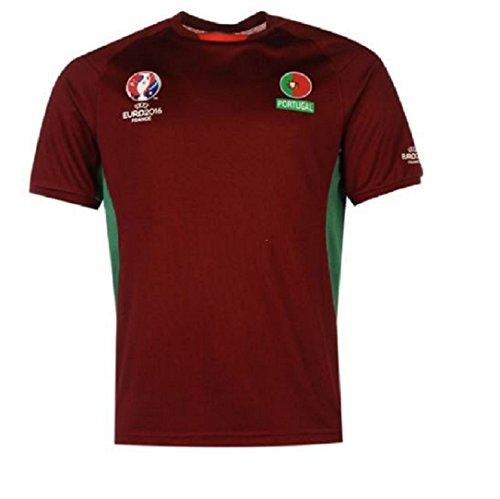 UEFA EURO 2016Maglietta squadra del Portogallo ufficiale poliestere