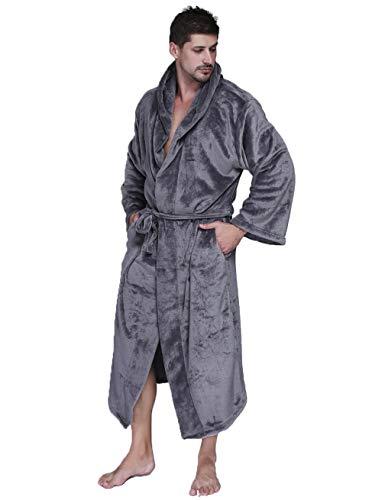 MAYIMY Plus fat plus size vestido de noche unisex invierno espesado largo cálido con capucha albornoz vestido de noche japonés 300 kg 3XL
