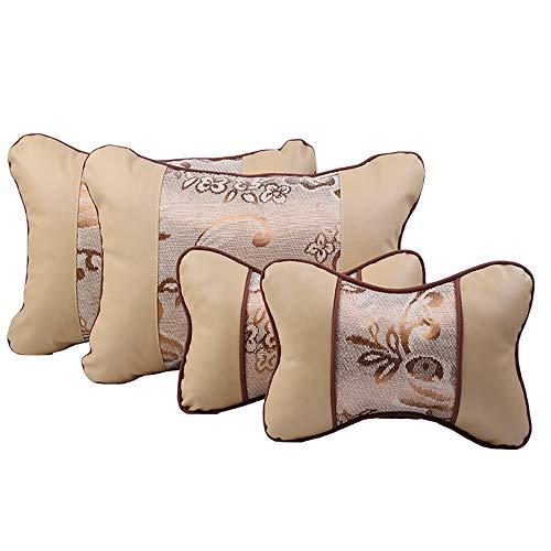 Cojín lumbar para asiento – Alivia la espalda ciática coxis y dolor de coxis – Se adapta a la silla de oficina y corrección de la postura del coche
