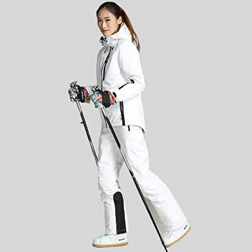 JSGJHXFXX-Winter skipak dames skibroek ski-jack hoge kwaliteit sneeuwjas warm waterdicht winddicht skipak dames 1,34
