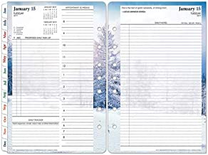 Seasons Daily Ring-Bound Planner: Classic Size - Jan 2019 - Dec 2019