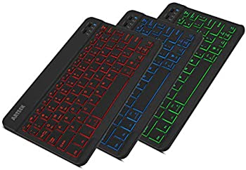 Arteck HB030B Bluetooth 3.0 Portable Backlit Keyboard